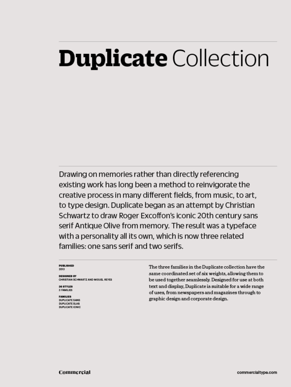 Duplicate collection 1 600 xxx