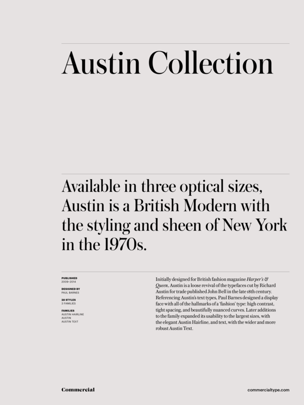Austin collection 1 600 xxx