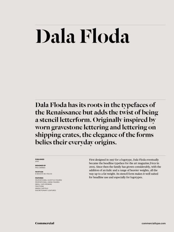 Kommerciel Type Katalog Dala Floda Familie-4687