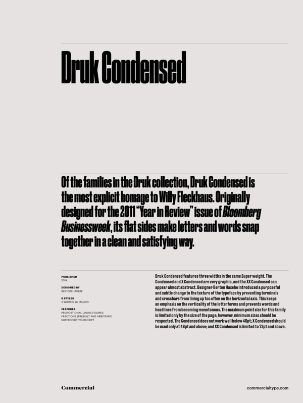 Druk condensed family 1 600 xxx
