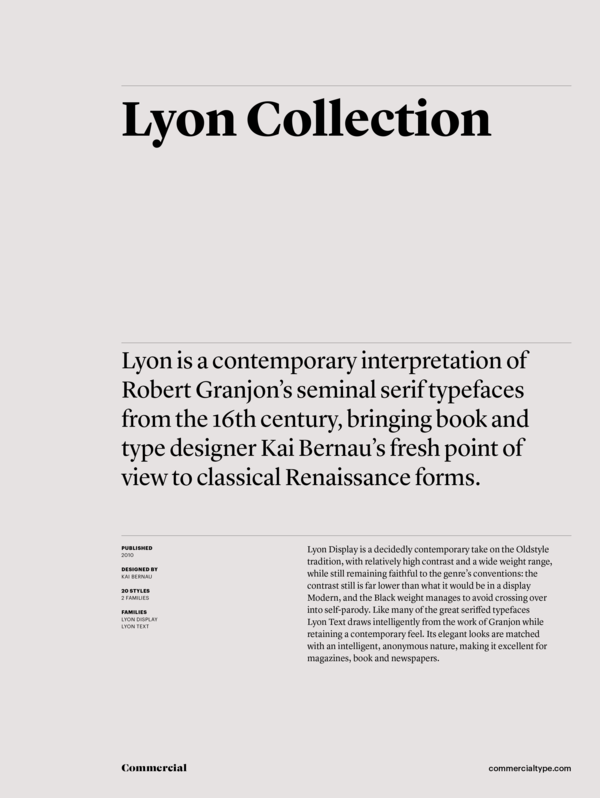 Lyon collection 1 600 xxx