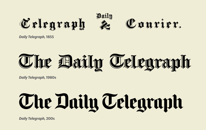 Commercial Type » News » New typefaces for The Daily Telegraph