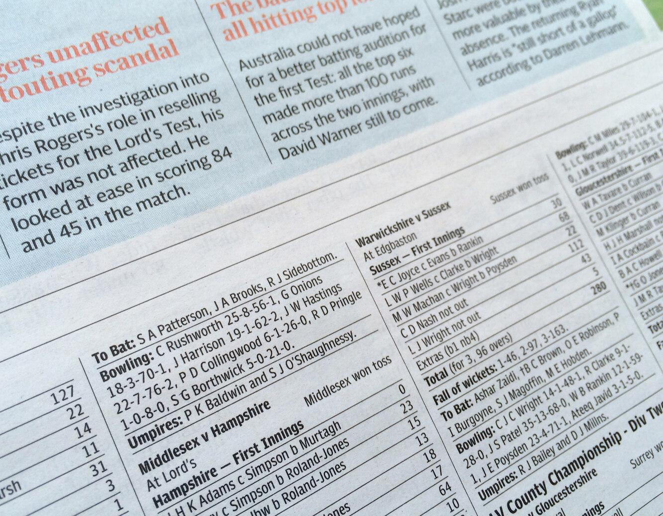 Linotype Corona - latest British newspaper typeface makes British debut in leading Liverpool dailies.