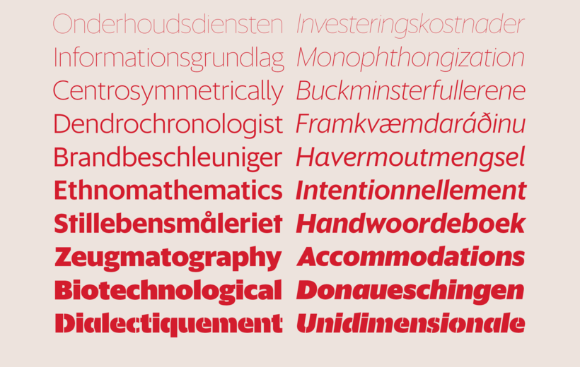 Commercial Type » News » New release: Sanomat Sans