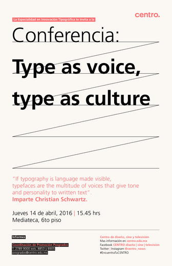 Type as voice type as culture 336 xxx q87