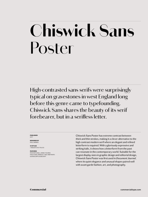 Chiswick sans poster family 1 600 xxx q87