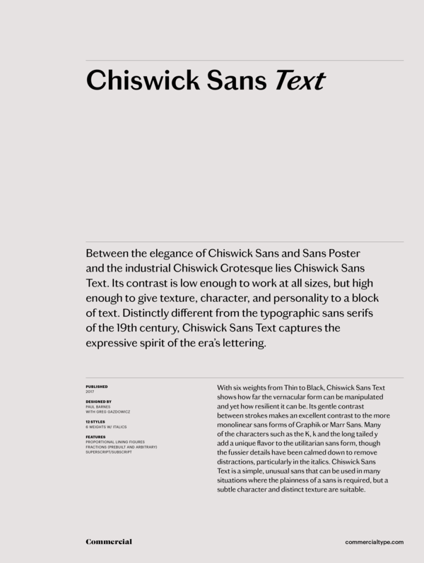 Chiswick sans text family 1 600 xxx q87