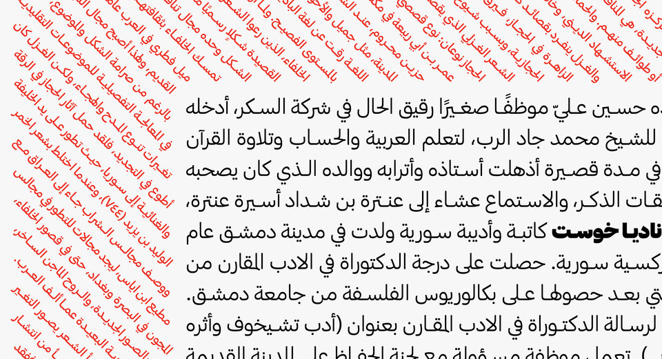 Commercial Type » News » New Release: Graphik Arabic