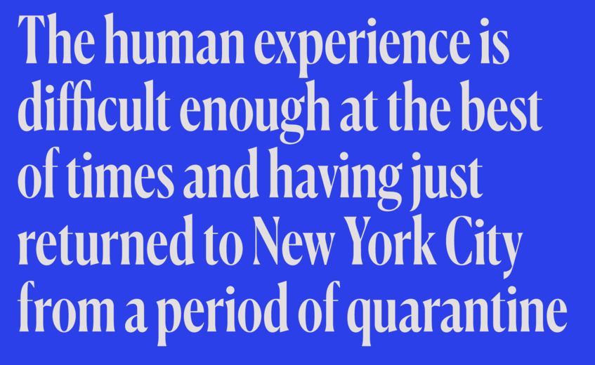 Commercial Type » News » New release: Canela Condensed