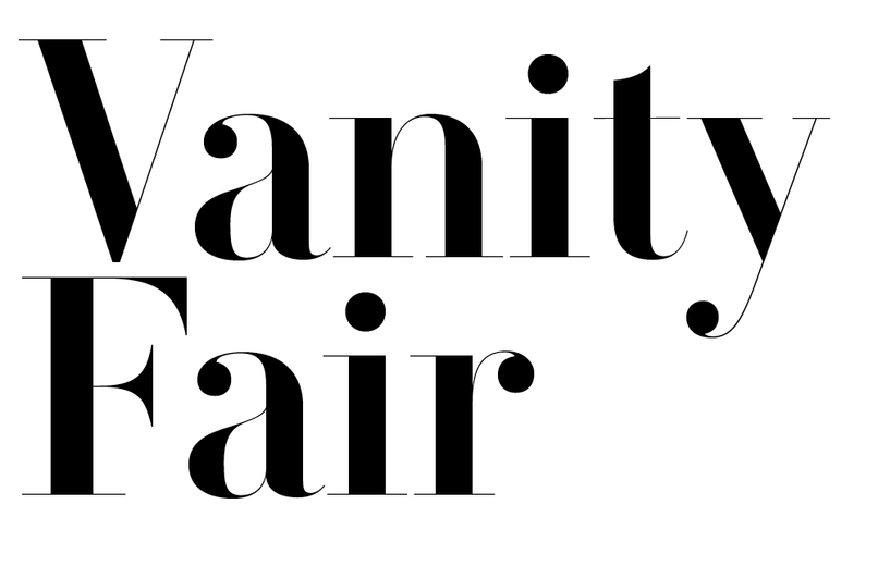 Commercial Type » News » VF Didot for Vanity Fair